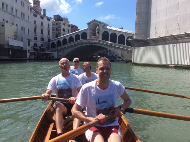 Marlow RC rowing Flora in Venice