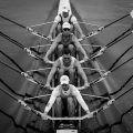 Rowing Balance in a quadruple scull