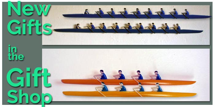 Customisable Wooden Rowing Teams