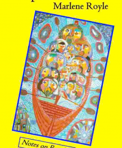 book cover, marlene royle, notes on rowing