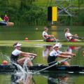 Coaching ratio in rowing.