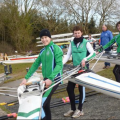 Rowing crew selection for a small club