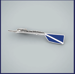 Custom Rowing Tie Tack