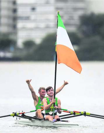 Rowing ireland, O'Donovan brothers,