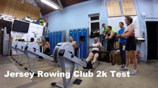 2k Erg Test rowing ergometer concept2