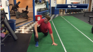Hip Flow stretch for T-Spine mobility