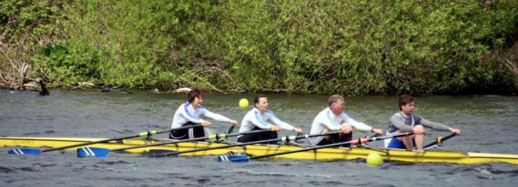 Berwick Amateur Rowing Club mixed quad