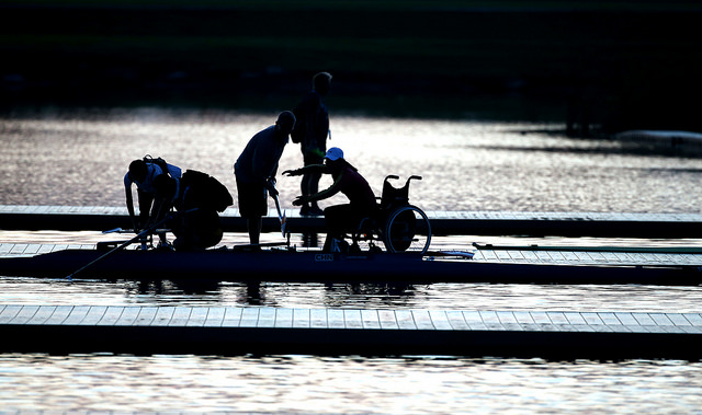 Adaptive Rowing silhouette Photo Credit: WorldRowing