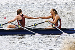 rowers after a race success