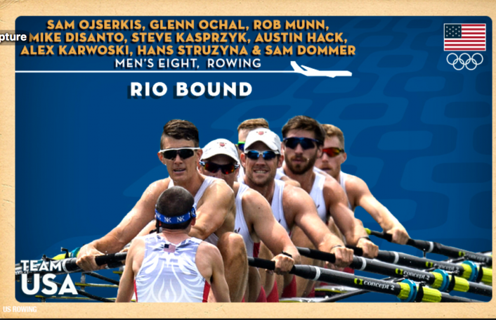 US Rowing Rio
