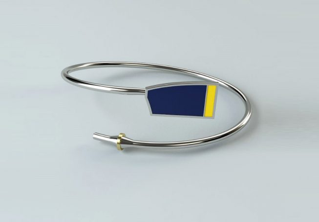 Rowing Custom Bent Oar Bracelet