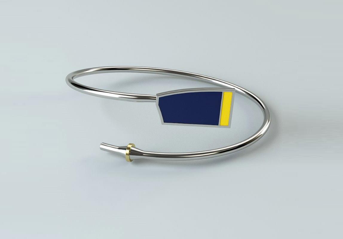 Rowing Custom Bent Oar Bracelet