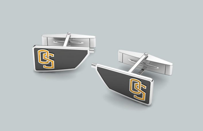 Men's Custom Oar Cufflinks