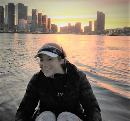 Sarah Ben David Australian coxswain