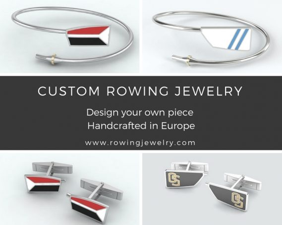 Custom rowing jewelry