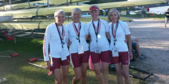 gold medals at World Masters Regatta in Copenhagen last September