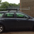 car rowing roof rack