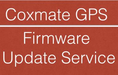 Coxmate GPS Firmware update