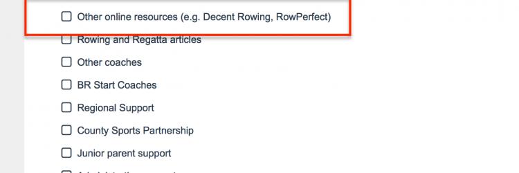 british rowing coach, rowperfect, sport coach survey