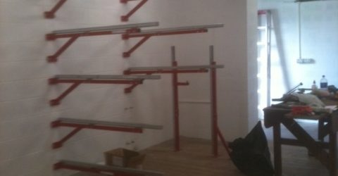 Space saver rowing, boat racking, rowing boat rack,