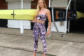 Holly NOrton, GB Rowing, ACAI ACtivewear