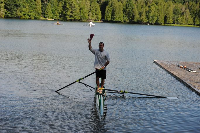 Troy Howell, rowing coach, Craftsbury Sculling Center,