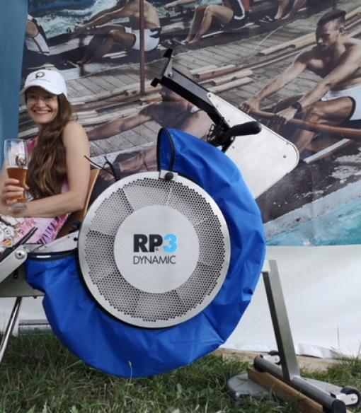 C Breeze blue, RP3 rowing machine,