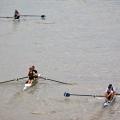 Pairs Head Rowing Racing on Tideway London