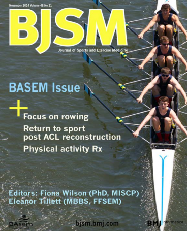 British Journal Sports Medicine - lower back pain in rowers