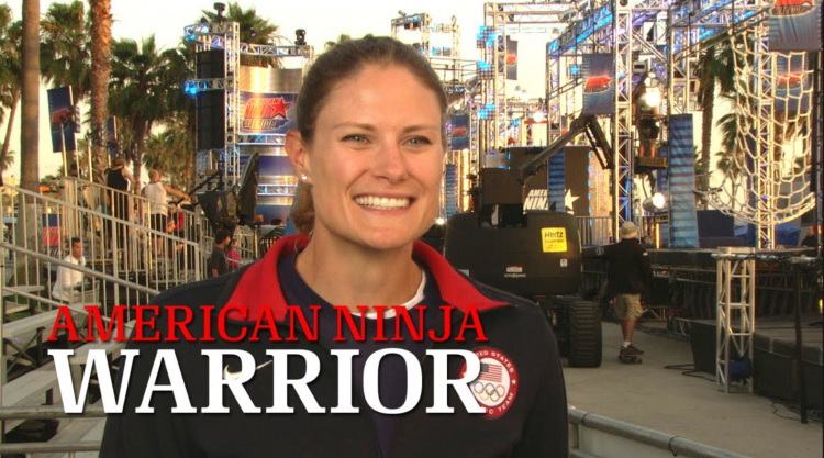 Susan Francia on American Ninja Warrior