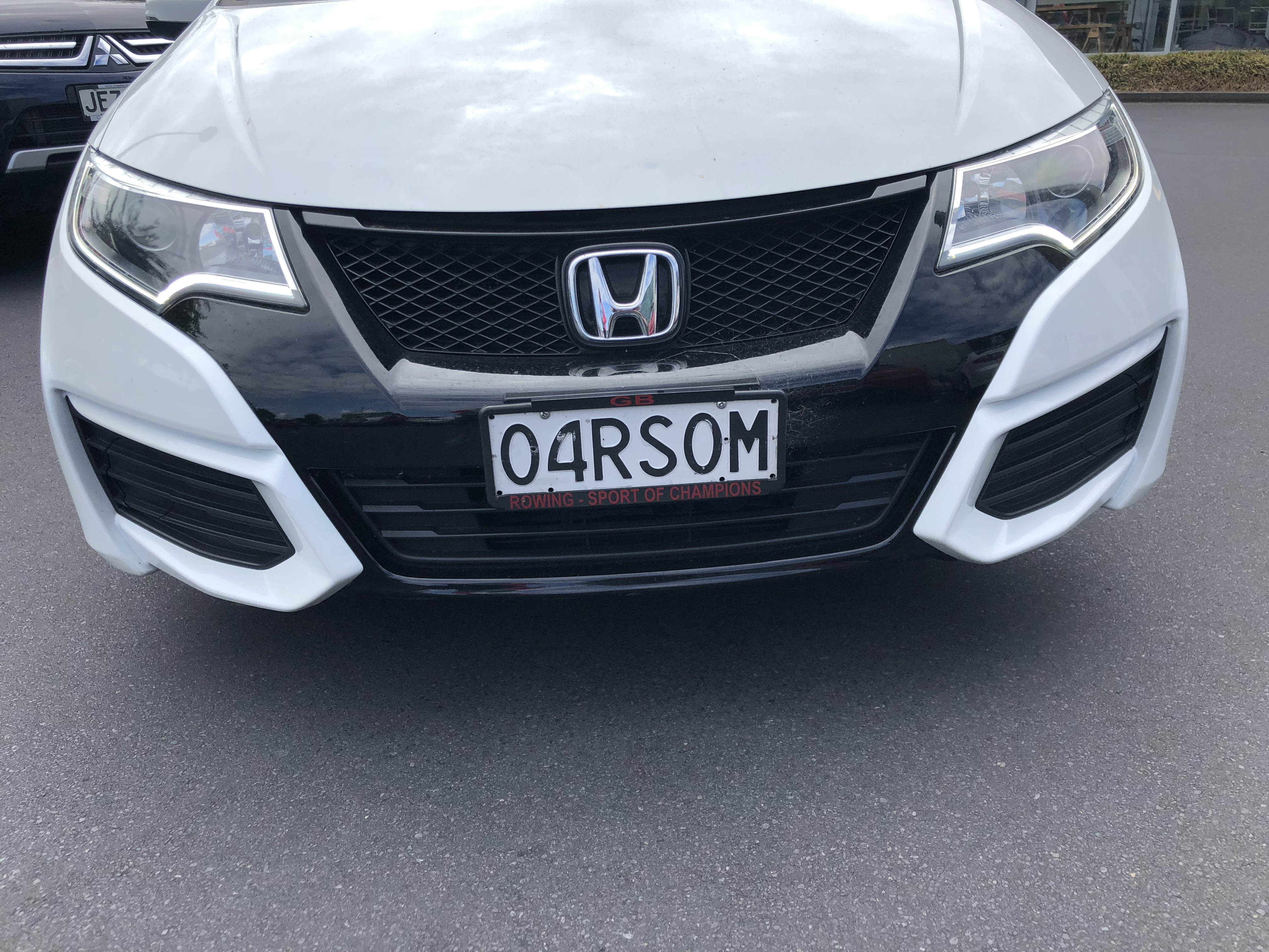 Oarsom car license plate