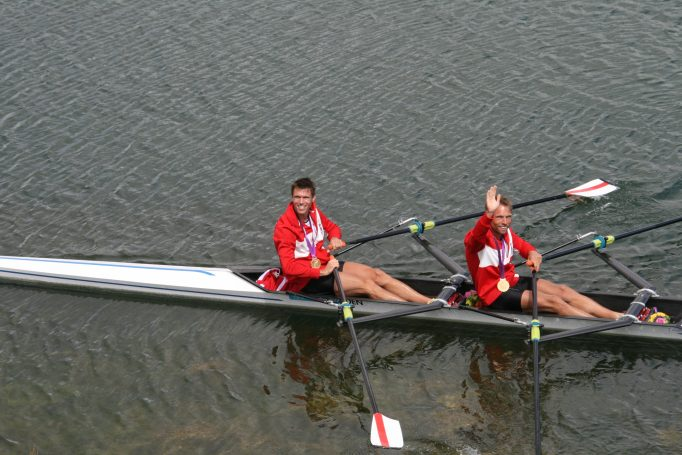 London rowing, Olympic Medal Ceremony
