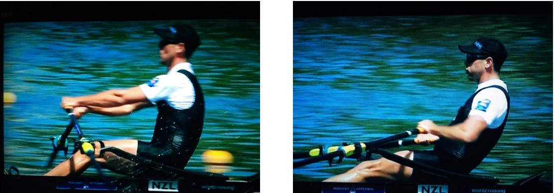 NZL, Rowing, Robbie Manson the drive