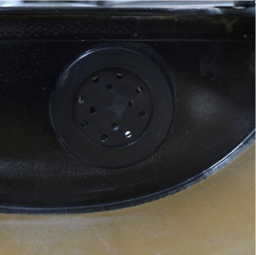 Coxmate speaker in the boat
