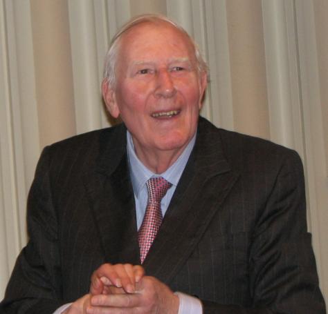 Roger Bannister. Image Credit: Wikipedia