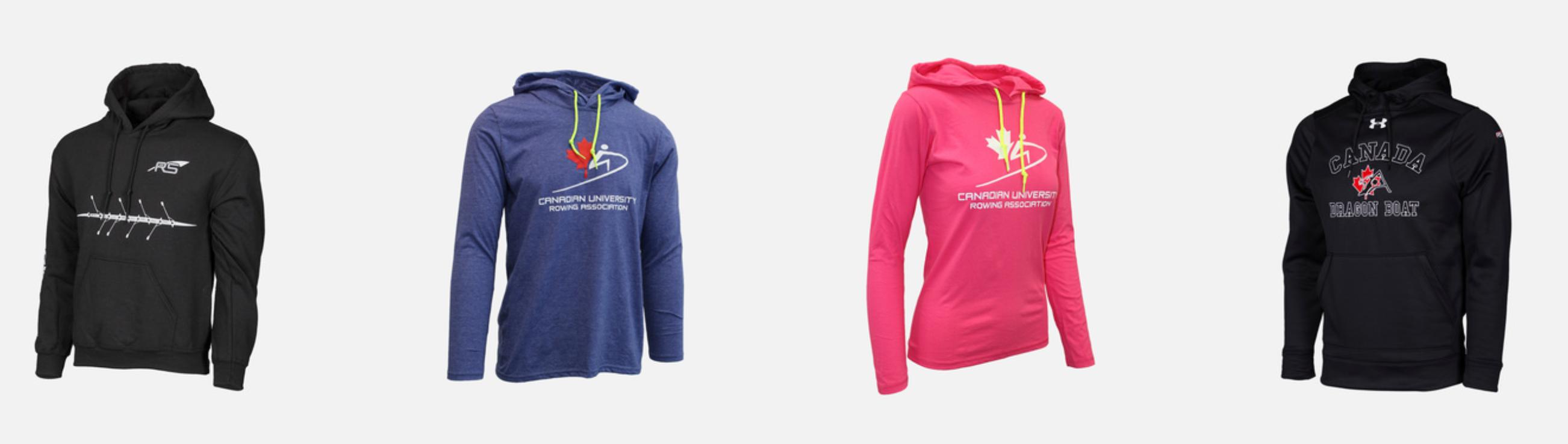 RegattaSport rowing hoodie designs