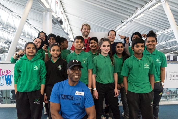 Rowing Students from Alperton Community School