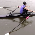 Vince Reynolds Sculling with Jim Joy