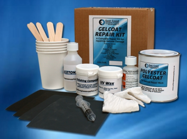 Gel Coat Repair Kits for rowing boats