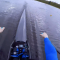 GoPro in single scull rowing 2k