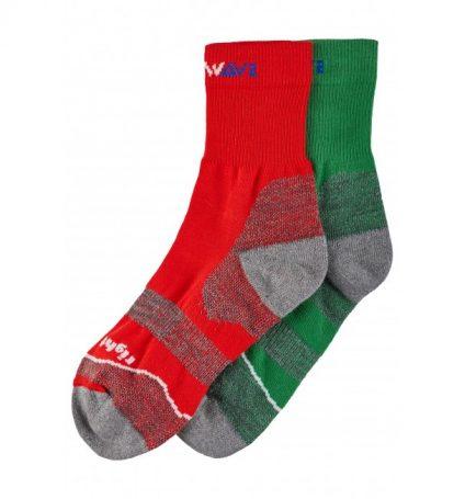 rowing socks, red green socks
