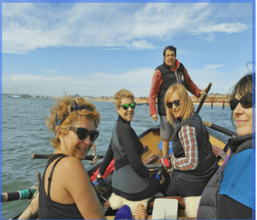 Rowing vacation , Tour rowing, rowing holiday, Cantabria Spain