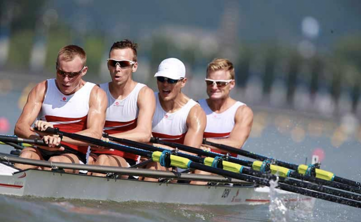 Kanghua, rowing quad, Danish Lightweights