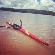 Kanghua, single scull, rowing,