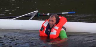 VIVO Life Jacket capsize test