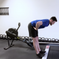Rowing hinge from the hip by Joe de Leo
