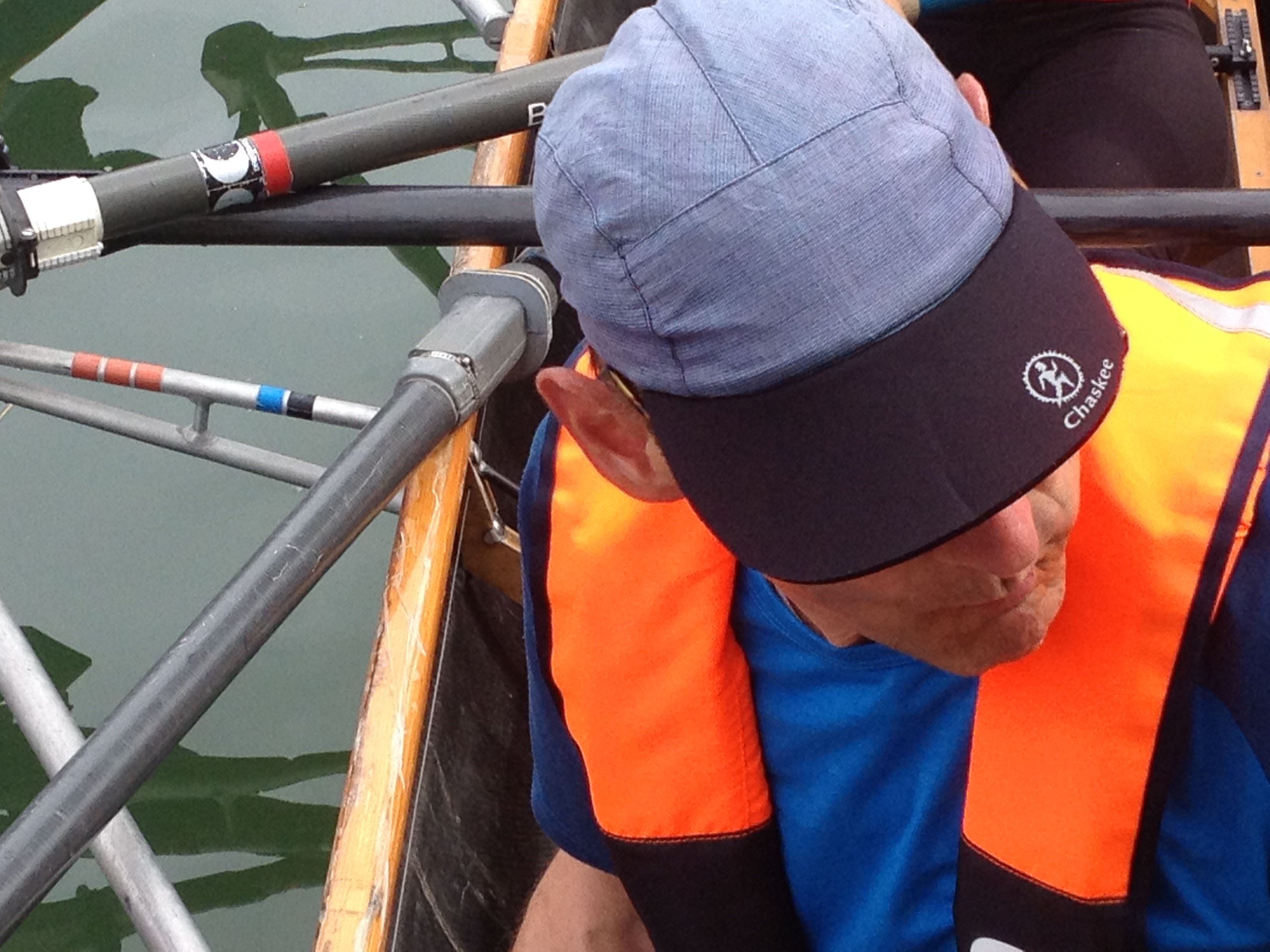 Vivo life jacket, rowing boat, touring rowing,