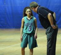 Coach athlete discussion.