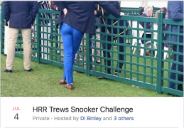 HRR Trews Snooker Challenge page