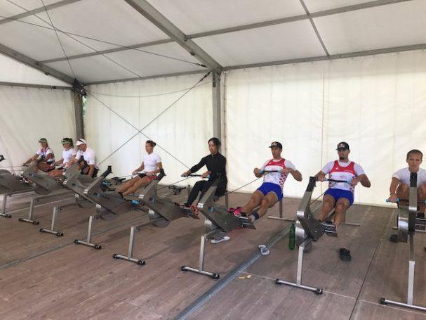 Team RP3 rowing Luzern